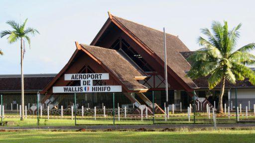 Ostrov Wallis - letisko Hihifo