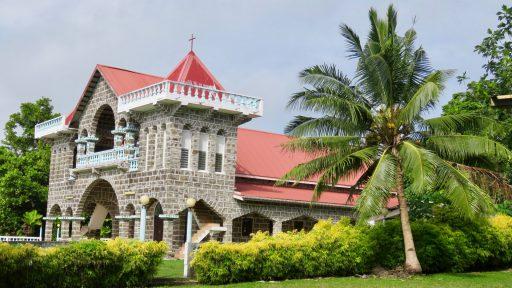 Ostrov Wallis - kaplnka Kahane